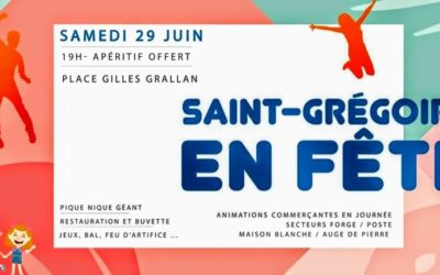 Saint-Grégoire en fête – samedi 29 juin 2019